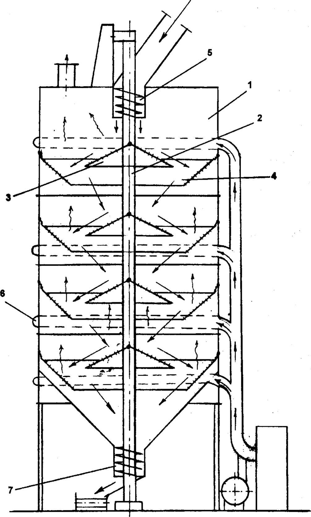 паровая сушилка трубчатая схема