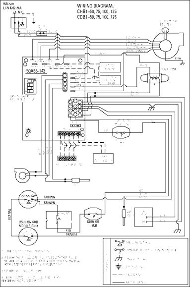 7900 series coleman gas furnace wiring diagram