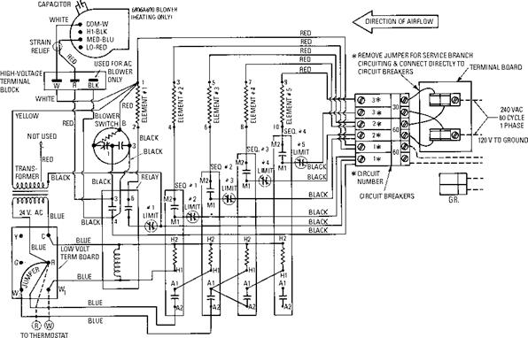 727 on wiring diagram for nordyne heat pump