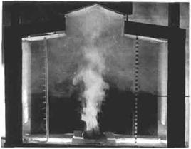 Airflow Dominated by Thermal Plumes