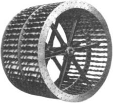 Early mine ventilation fans