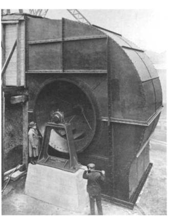 The first Mersey road tunnel